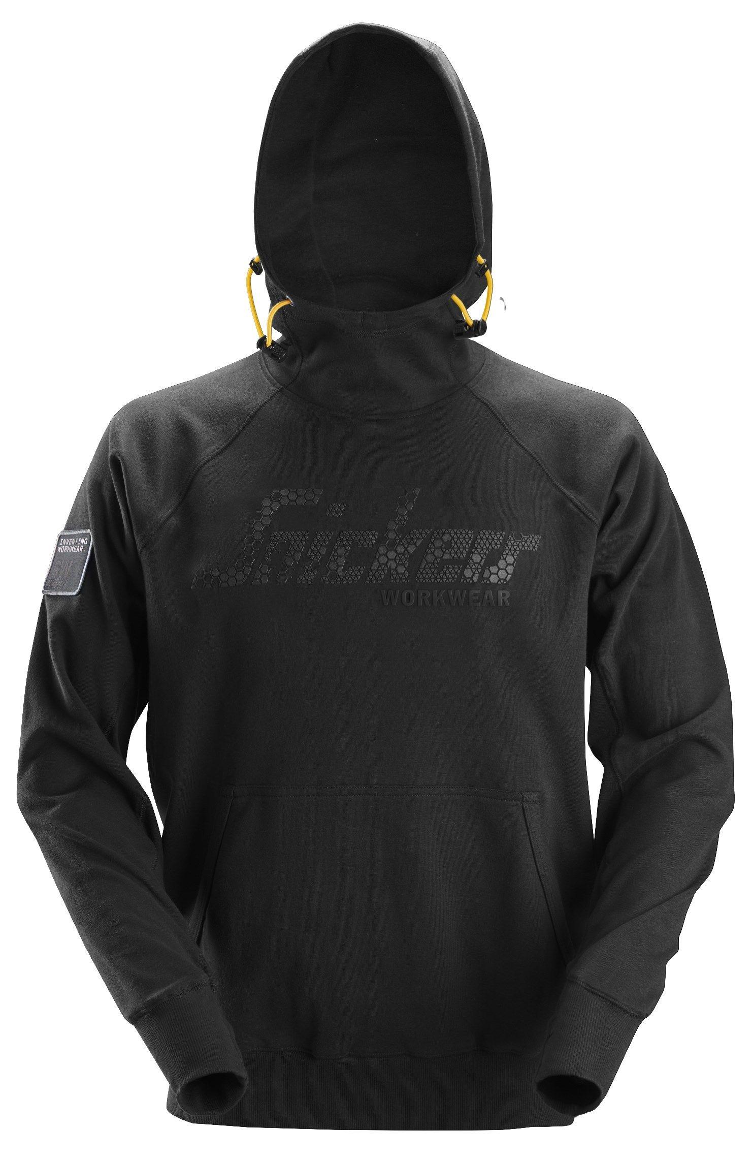 Snickers 2881 Logo Hoodie Black