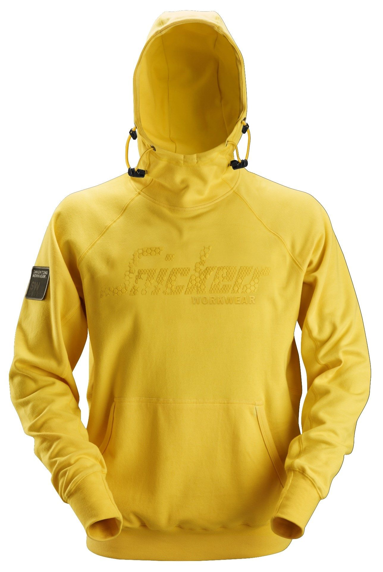 Snickers 2881 Logo Hoodie Yellow