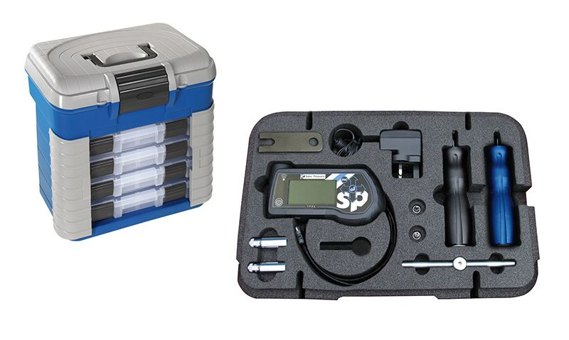Sykes Pickavant TMPS Tool Complete Kit In Storage Box