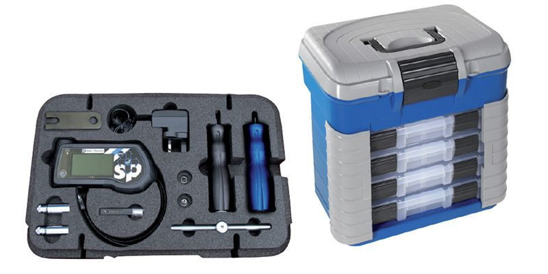 Sykes Pickavant TPMS Plus Tool Complete Kit In Storage Box
