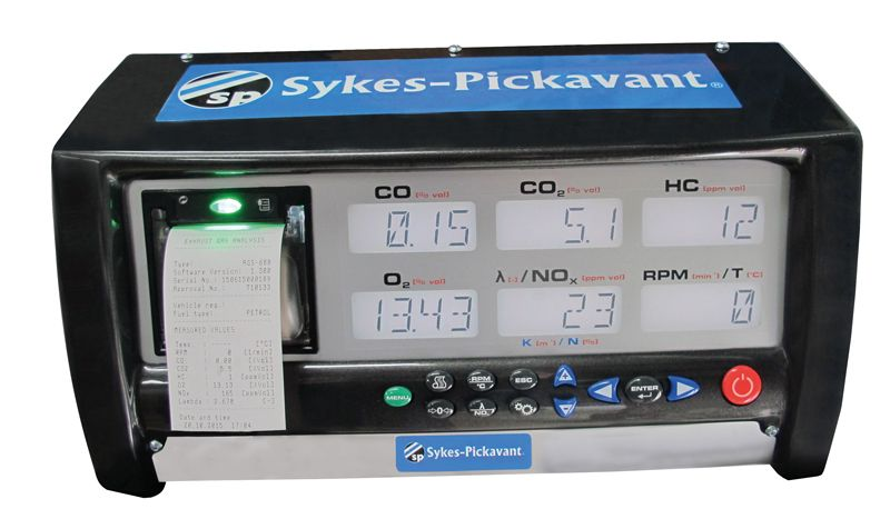 Sykes Pickavant Diesel Gas Analyser