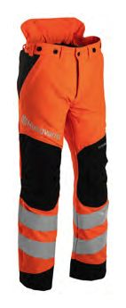 Husqvarna Chain Saw Protective Hi-Viz Trousers 20A - Technical