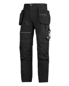 Snickers 6202 RuffWork Holster Work Trousers Black