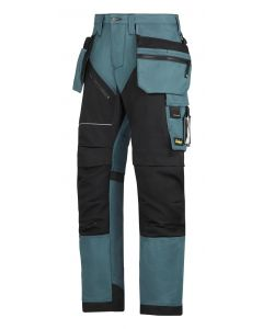 Snickers 6202 RuffWork Holster Work Trousers Blue