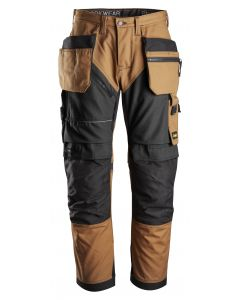 Snickers 6202 RuffWork Holster Work Trousers Brown