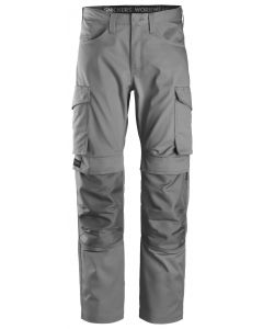 Snickers 6801 Service Trousers + Knee Pockets Grey