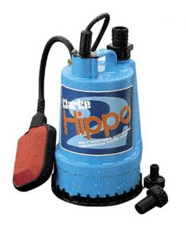 "Clarke Hippo 1"" Submersible Water Pump Float Switch 230v"