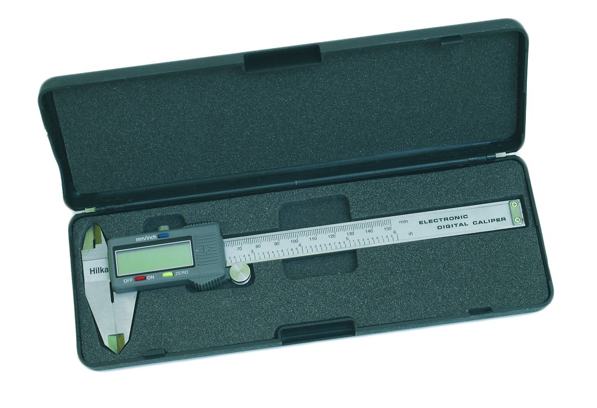 Hilka Pro Craft Vernier Calipers Digital 6""