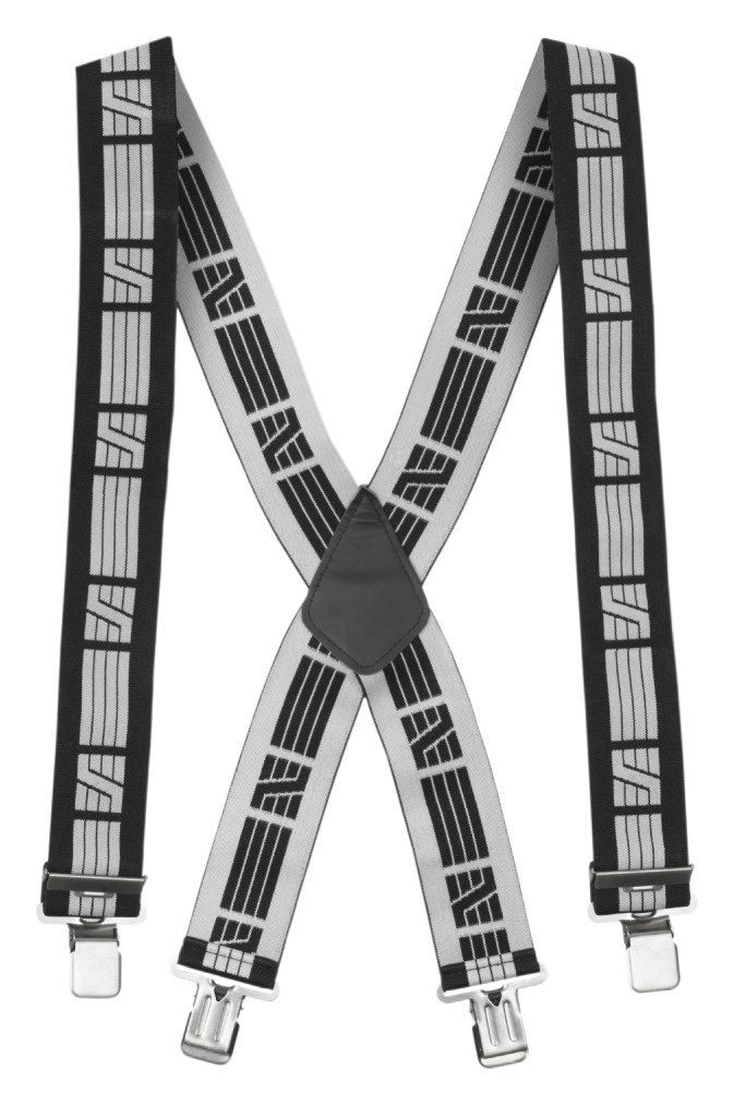 Snickers 9050 Elastic Trouser Braces Black One Size