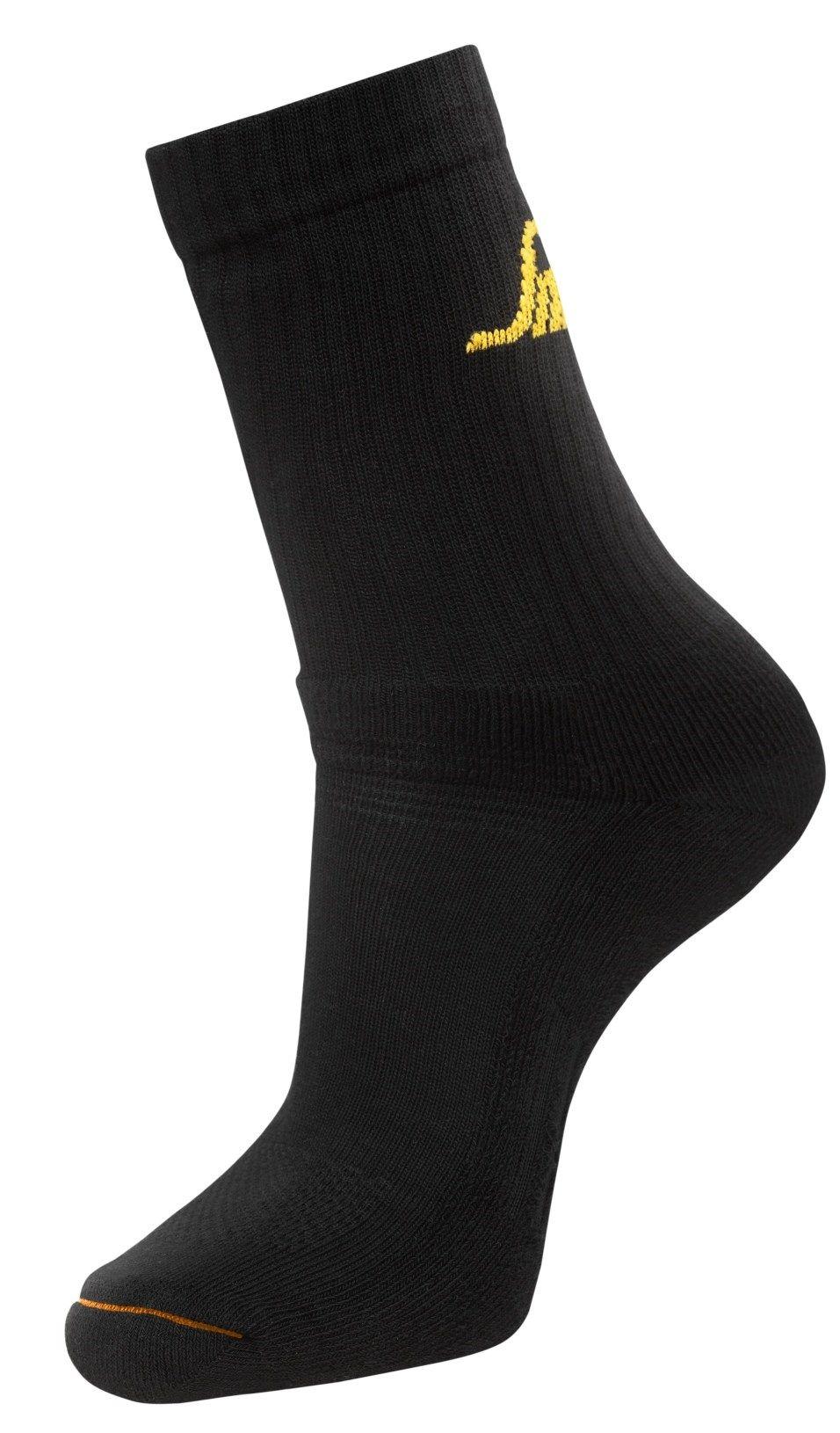 Snickers 9211 AllroundWork Basic Socks Black 3 Pack