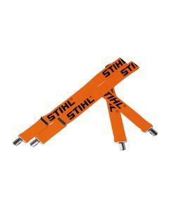 Stihl Orange Braces With Metal Clips