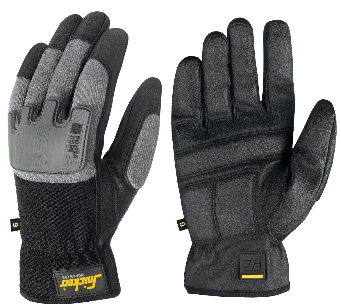 Snickers 9585 Power Core Gloves Black