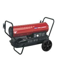 Sealey AB1008 Space Warmer 100,000 Btu Paraffin / Kerosene / Diesel Heater 230v