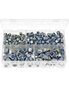 Nylon Lock Nuts (DIN 982) M6 - M12 Assortment