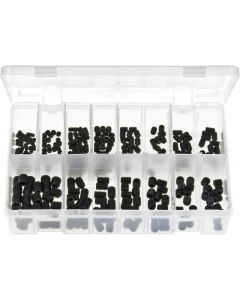 Grub Screws Black Metric Assortment