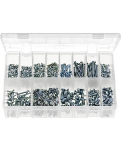 Machine Screws Cheese Head Countersunk Slot BZP Assortment