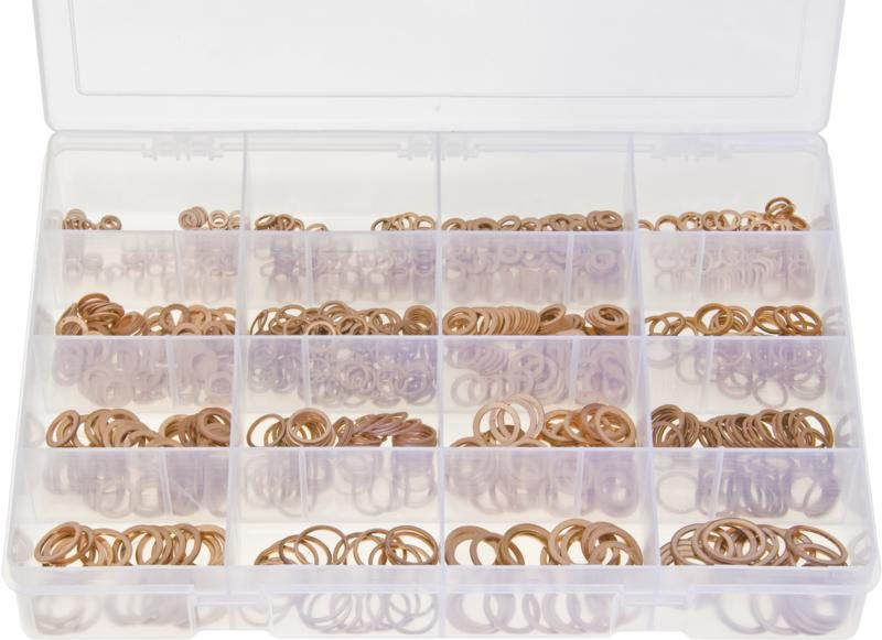 Copper Sealing Washers Metric Assortment