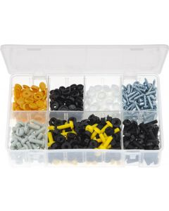 Number Plate Fasteners Assortment