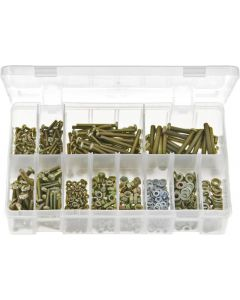 Machine Screws Nuts & Washers Metric Assortment