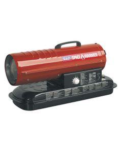 Sealey AB708 Space Warmer 70,000 Btu Paraffin / Kerosene / Diesel Heater 230v