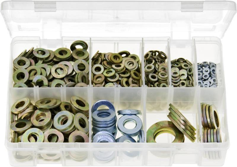 Flat Washers Form A Metric Assortment