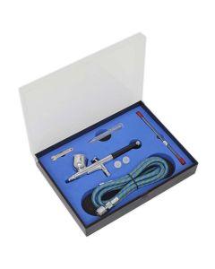 Sealey Air Brush Kit Gravity Feed