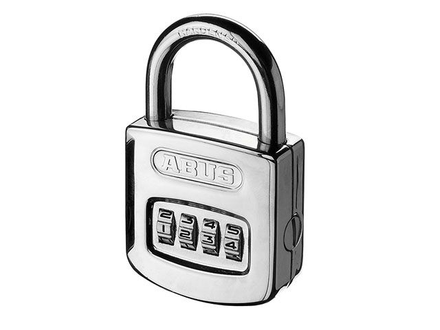 ABUS Mechanical 160/50 50mm Combination Padlock Steel Case (4 Digit)