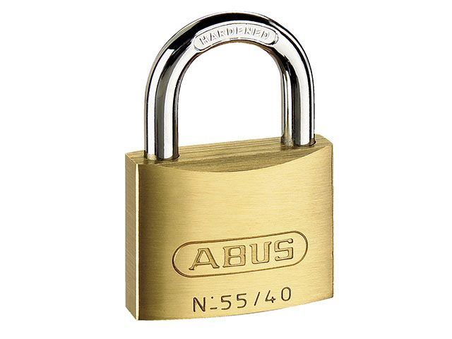 ABUS Mechanical 55/40 40mm Brass Padlocks