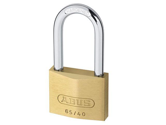 ABUS Mechanical 65/40 HB Brass Padlocks Long Shackle