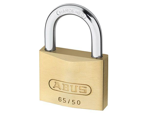 ABUS Mechanical 65/50 50mm Brass Padlocks
