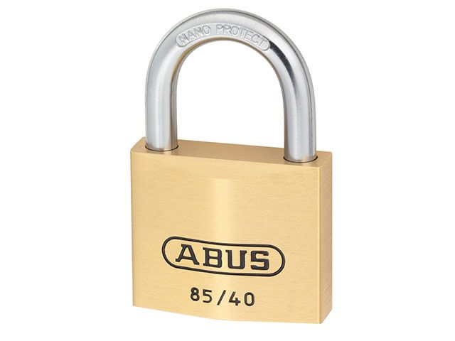 ABUS Mechanical 85/40 40mm Brass Padlock With Key No. 709