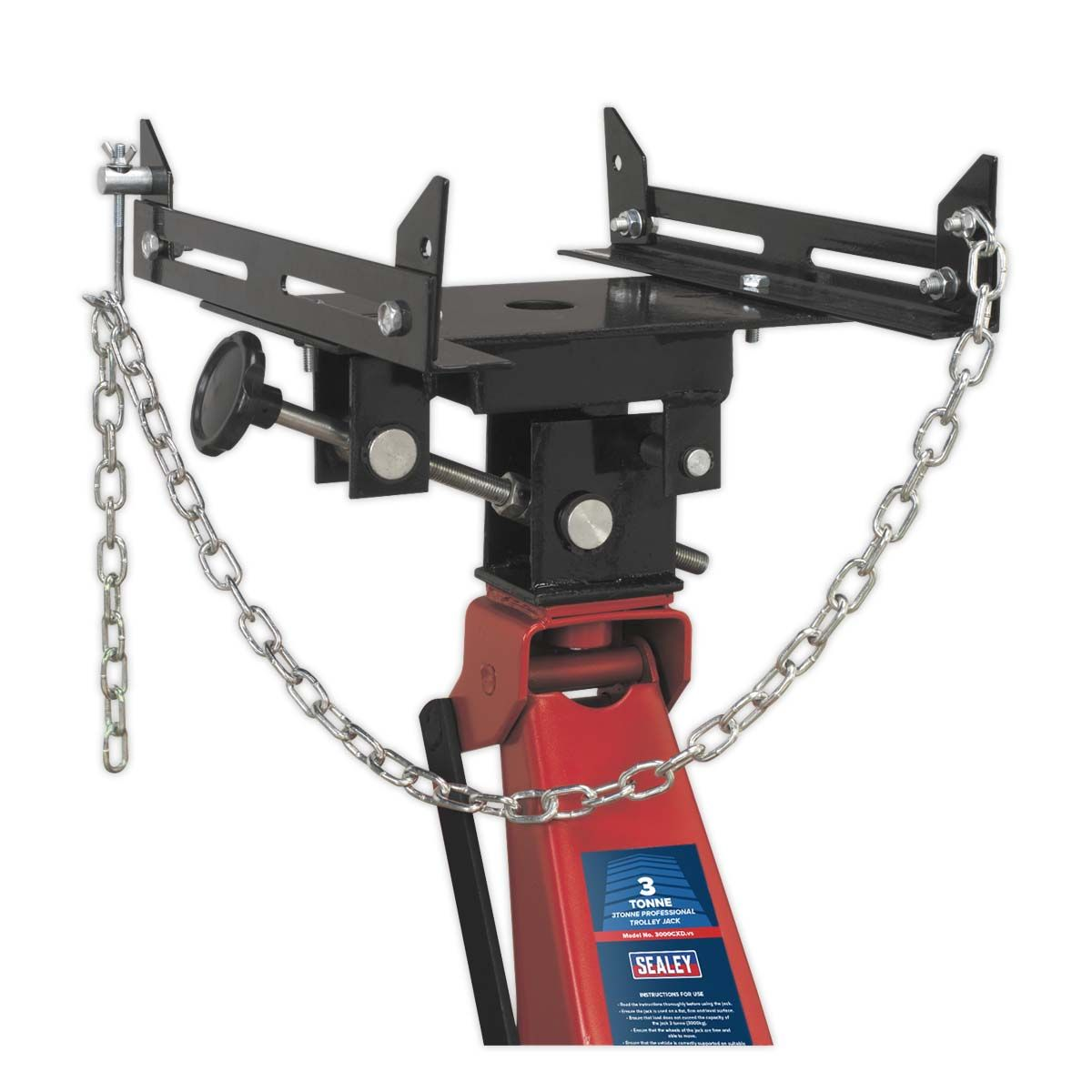 Sealey Transmission Cradle 200kg Capacity