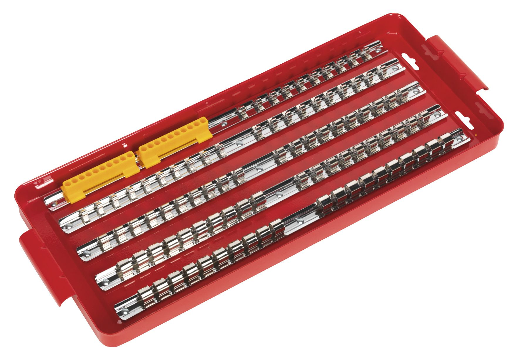 "Sealey Socket Rail Tray 1/4"", 3/8"" & 1/2""Sq Drive"