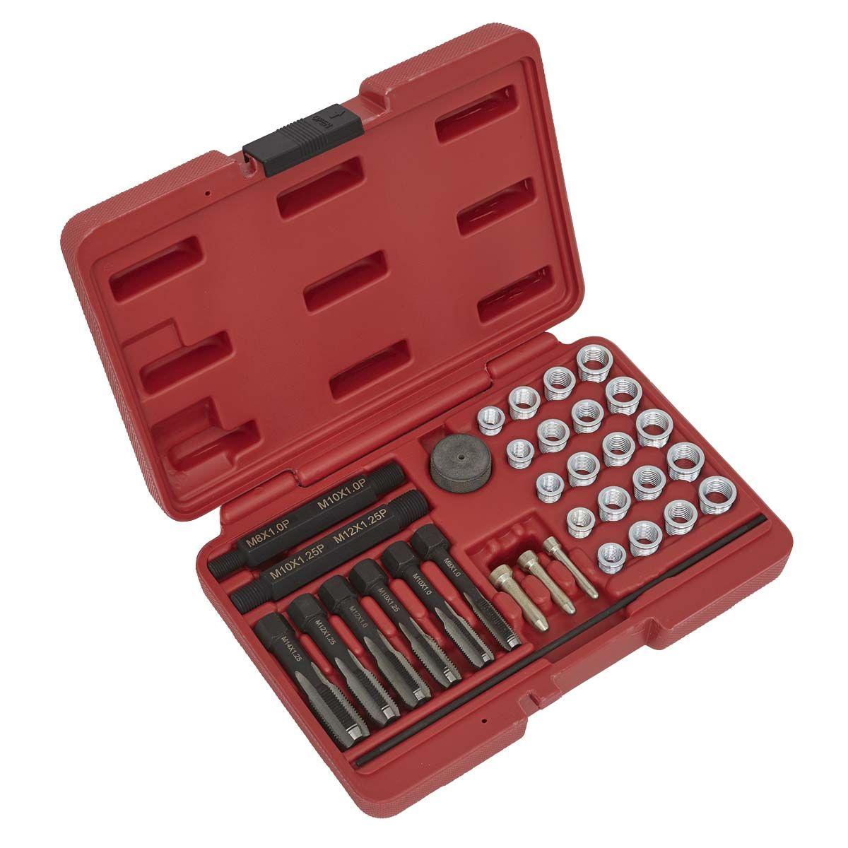 Sealey Re-Threader Master Kit 42pc Metric
