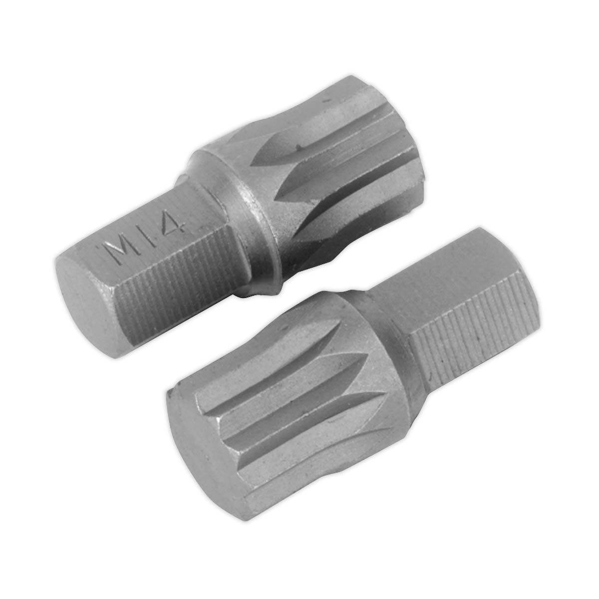 Sealey Spline Bit M14 x 30mm Pack of 2