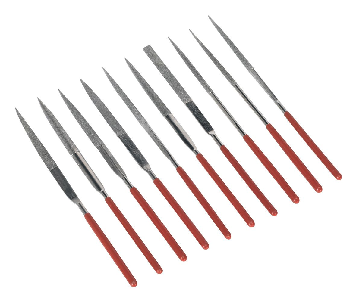 Sealey Diamond Needle File Set 10pc