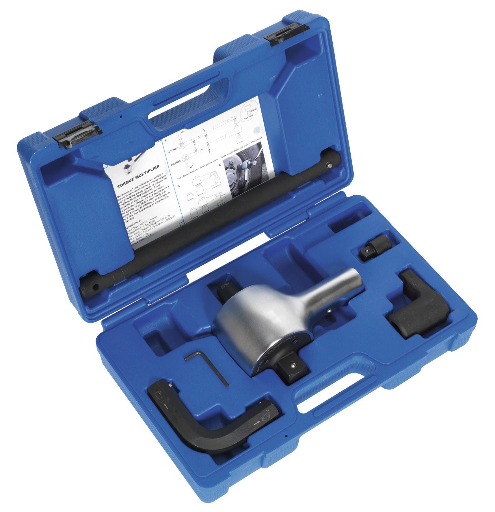 "Sealey Torque Multiplier Set 7pc 1/2""-1""Sq Drive"