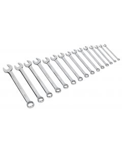 Sealey Combination Spanner Set 15pc Metric