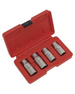 "Sealey Stud Extractor Set 4pc 1/2""Sq Drive Metric"