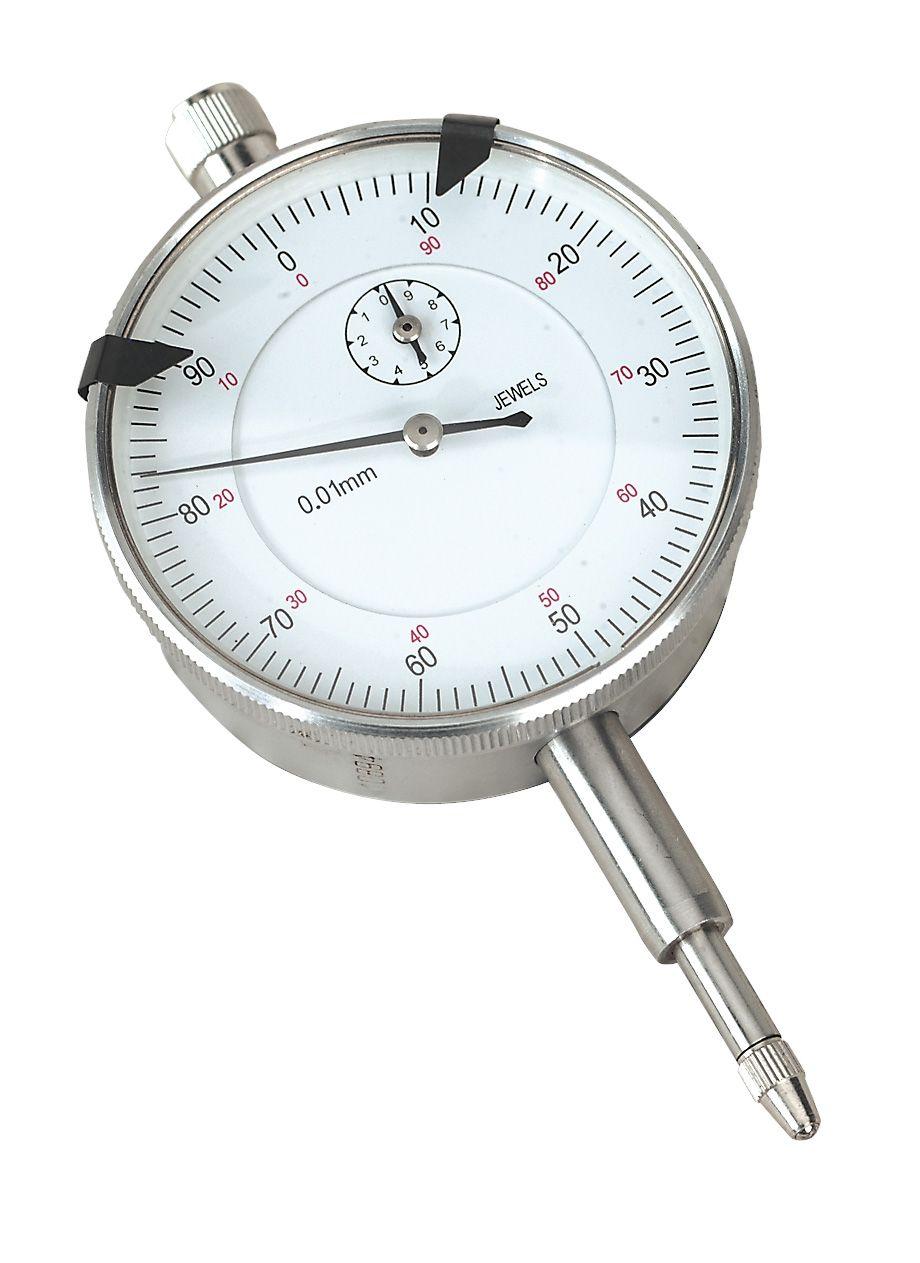 Sealey Dial Gauge Indicator 10mm Travel Metric