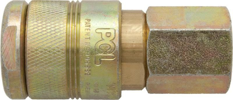 """PCL 100 Series Coupling 1/2"""" BSP Female"""