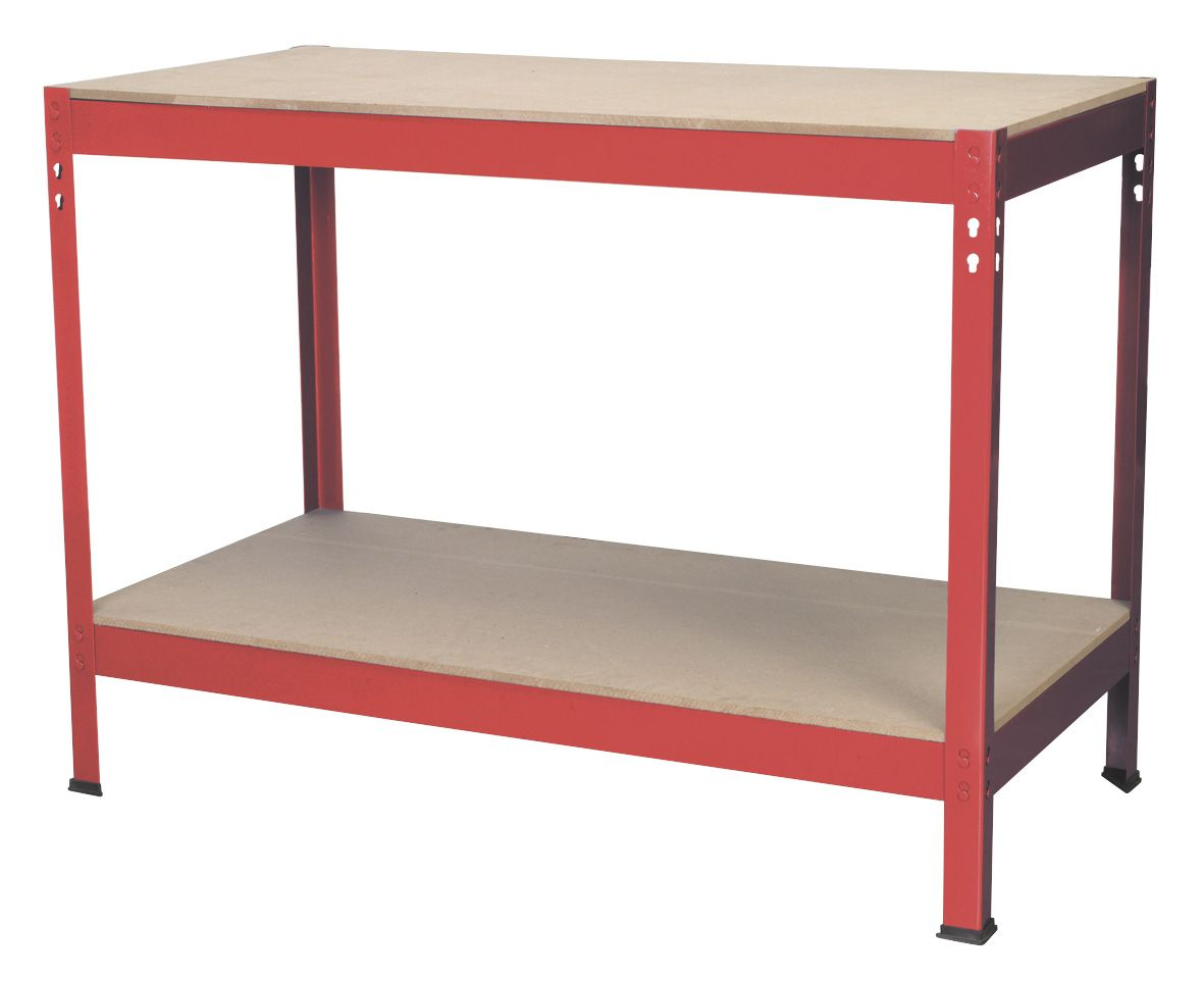 Sealey Workbench 1.2m Steel Wooden Top