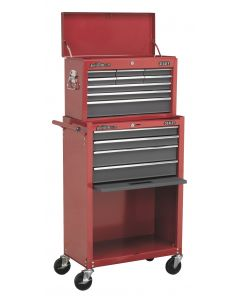 Sealey American Pro Topchest & Rollcab Combination 13 Drawer with Ball Bearing S