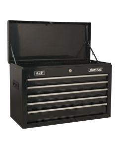 Sealey American Pro Topchest 5 Drawer with Ball Bearing Slides - Black