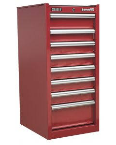 Sealey Superline Pro Hang-On Chest 8 Drawer with Ball Bearing Slides - Red