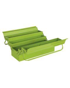 Sealey Cantilever Toolbox 4 Tray 530mm Hi-Vis Green