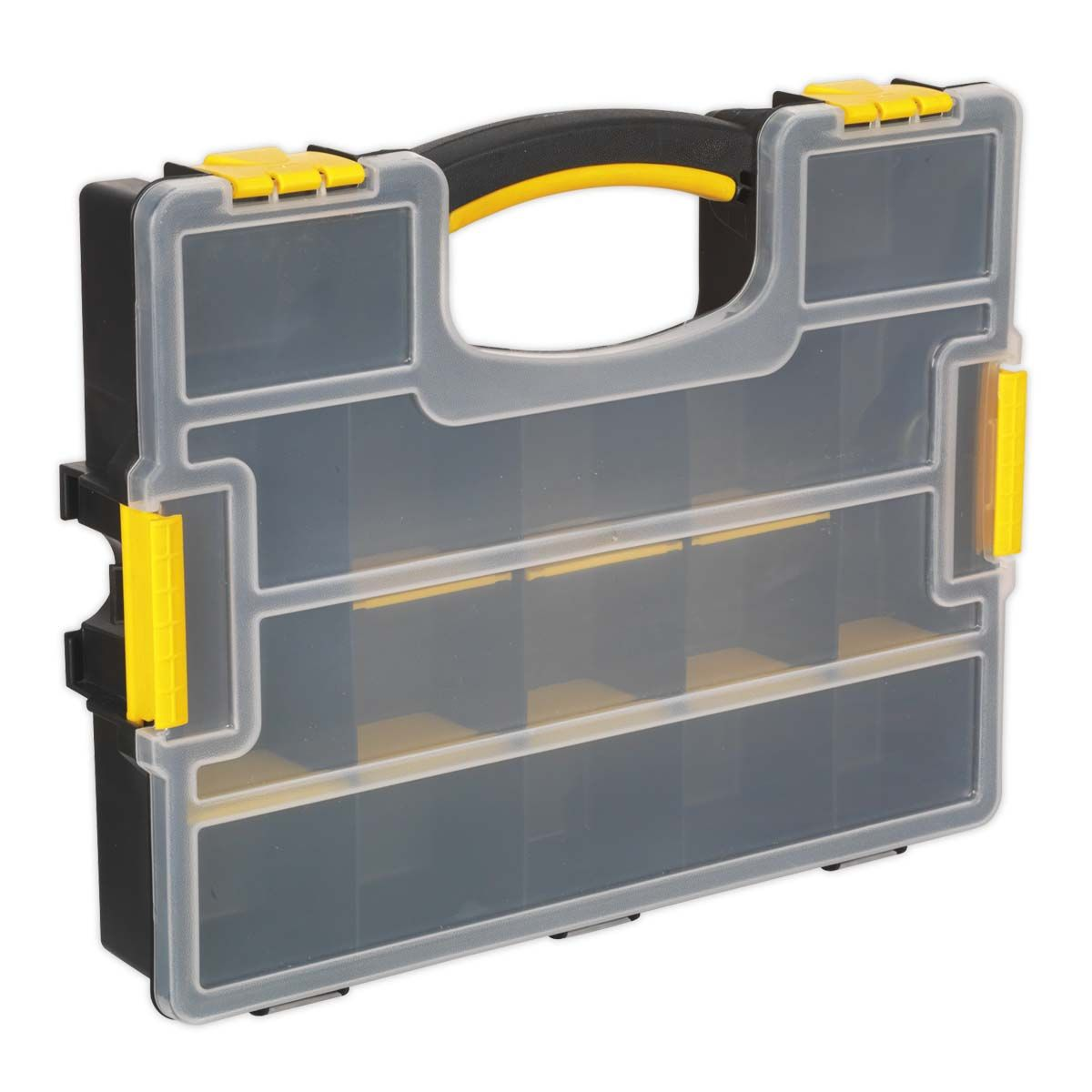 Sealey Parts Storage Case with Removable Compartments - Stackable