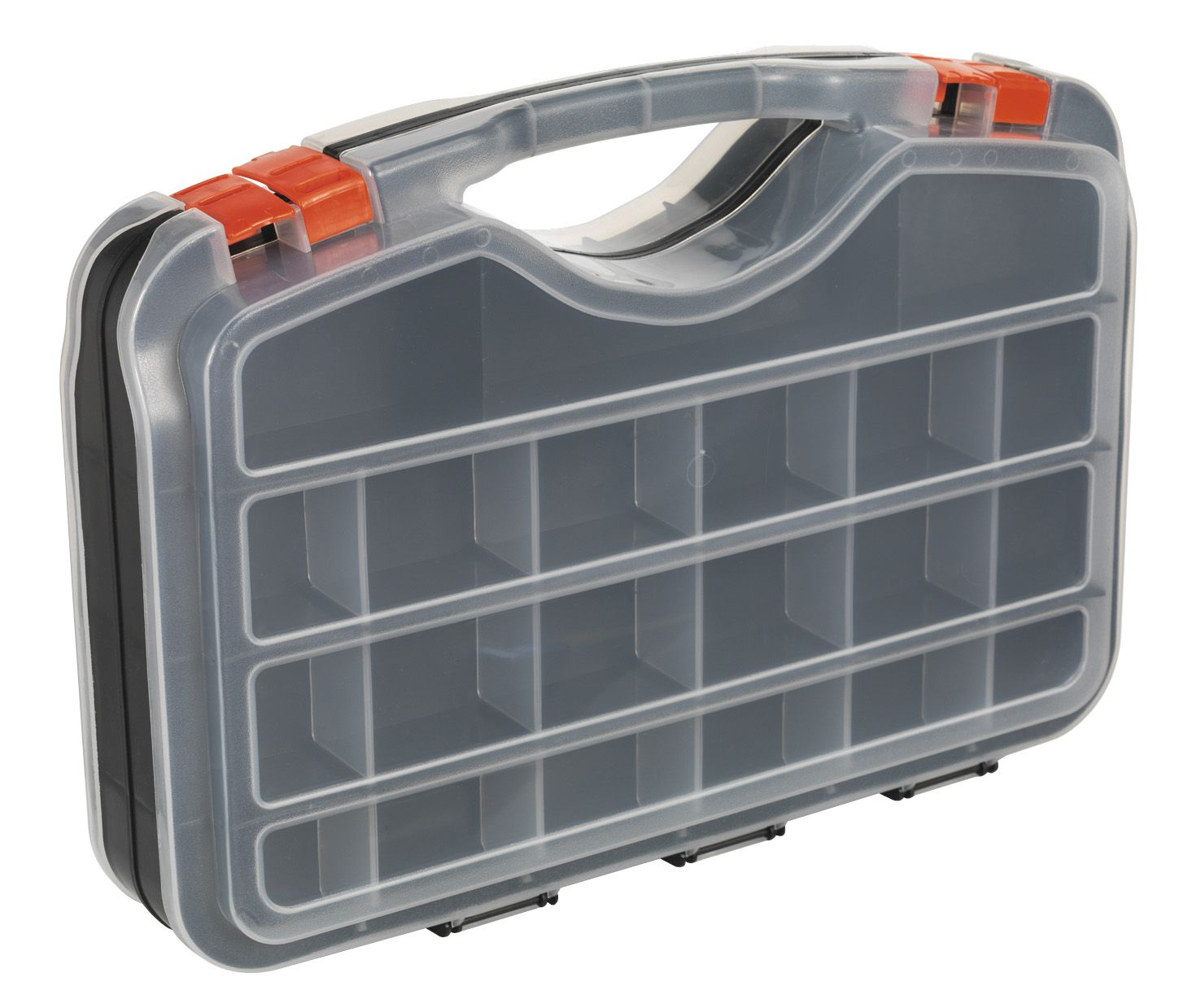 Sealey Parts Storage Case 42 Compartment Double-Sided