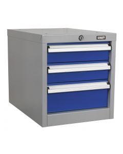 Sealey Industrial Triple Drawer Unit for API Series Workbenches