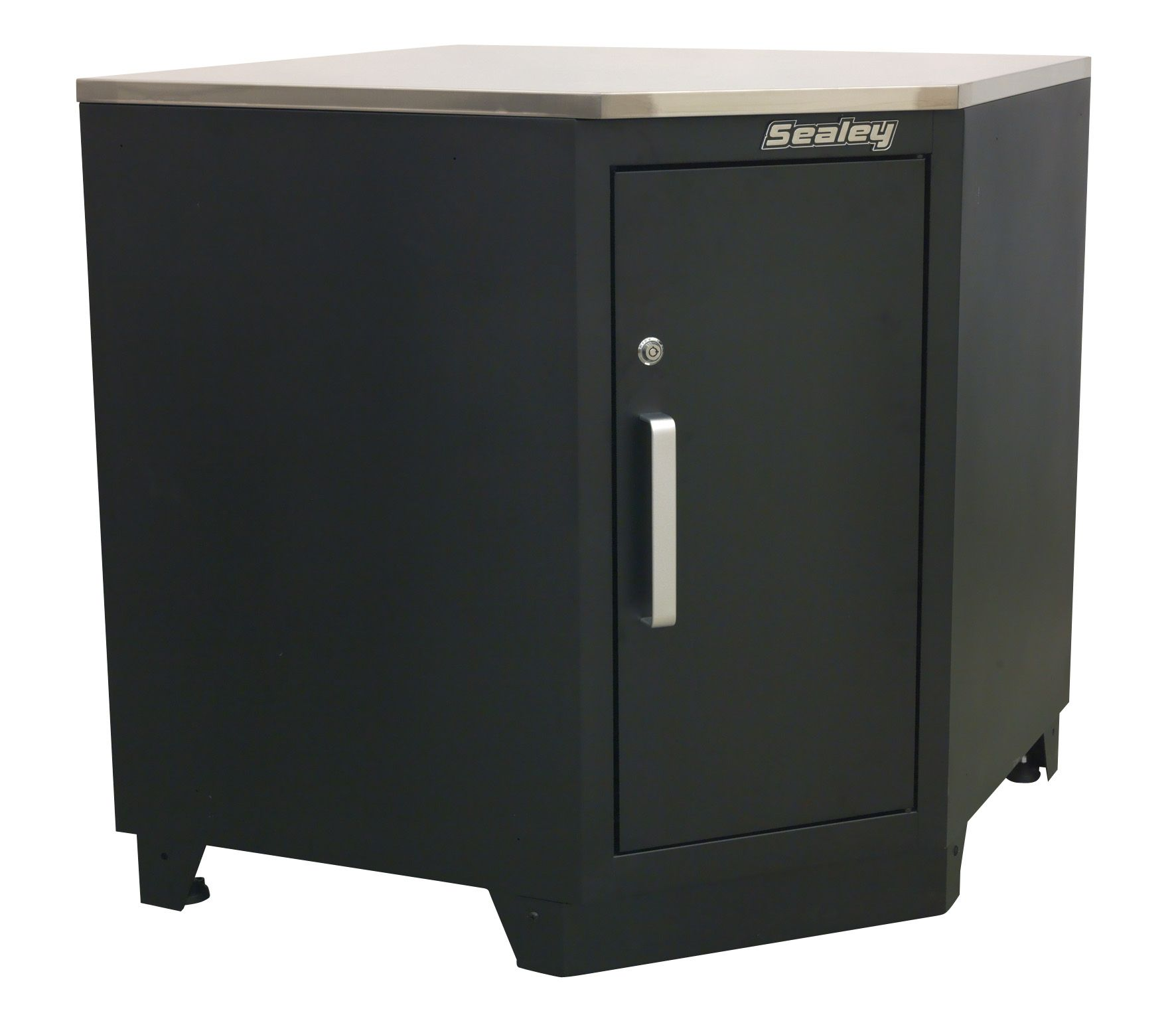 Sealey Premier Modular Corner Floor Cabinet 930mm Heavy-Duty
